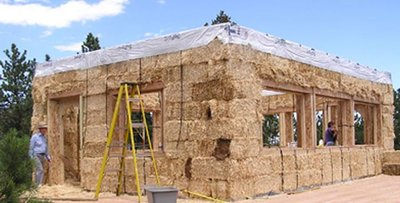 Paille principes et mat riaux pour maisons passives Materiaux de construction d une maison