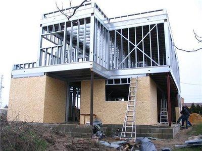 Acier principes et mat riaux pour maisons passives for Maison en acier prix